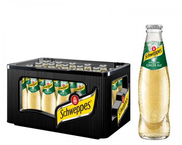 Schweppes Ginger Ale Kiste 24x0,2 ltr.