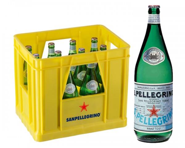 San Pellegrino Kiste 12x1,0 ltr