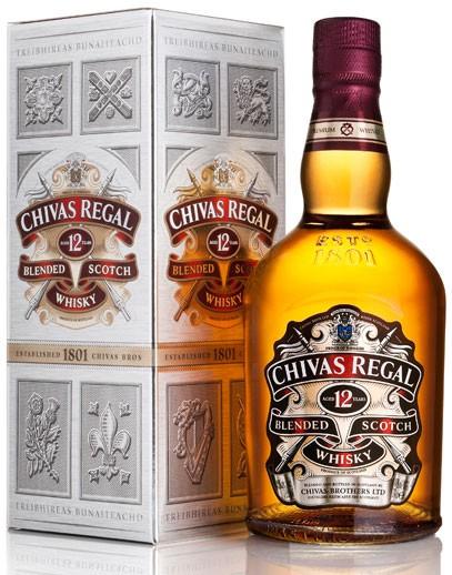 Chivas Regal 12 Jahre Flasche 0,7 ltr.