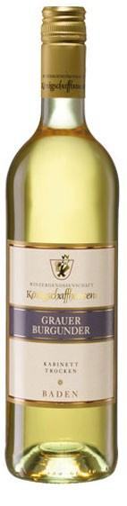 Grauer Burgunder WG Königschaffhausen Flasche 0,7 ltr.