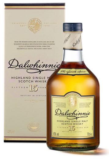 Dalwhinnie 15 Jahre Flasche 0,7 ltr.