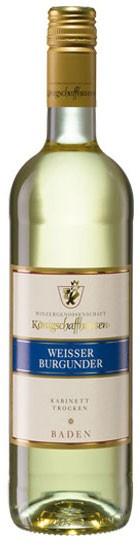 Weißer Burgunder WG Königschaffhausen Flasche 0,75 ltr.