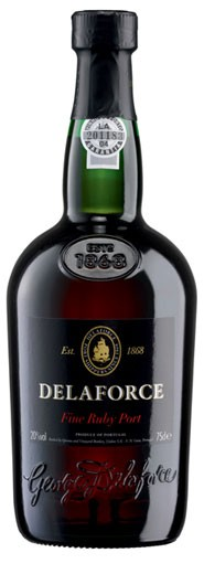 Delaforce Port Fine Ruby Port Flasche 0,75 ltr.
