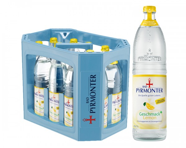 Bad Pyrmonter Geschmack+ Lemon 12x0,75 ltr