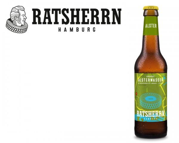 Ratsherrn Organic Ale Alsterwassser 24x0,33 ltr