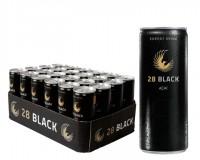 28 Black Classic Tray 24x0,25 ltr. Dose