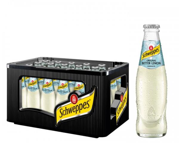 Scheppes Bitter Lemon Kiste 24x0,2 ltr.