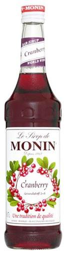 Monin Cranberry Flasche 0,7 ltr.