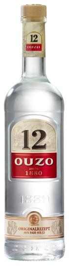 Ouzo 12 Flasche 1,0 ltr.