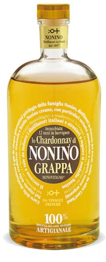 Nonino Grappa Chardonnay Flasche 0,7 ltr