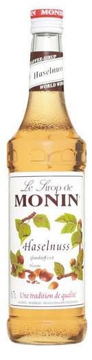 Monin Haselnuß Flasche 0,7 ltr.
