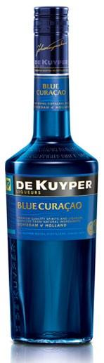 Blue Curaçao - De Kuyper Flasche 0,7 ltr.