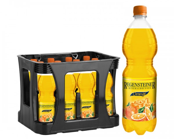 Regensteiner Orange Kiste 12x1,0 ltr. PEW