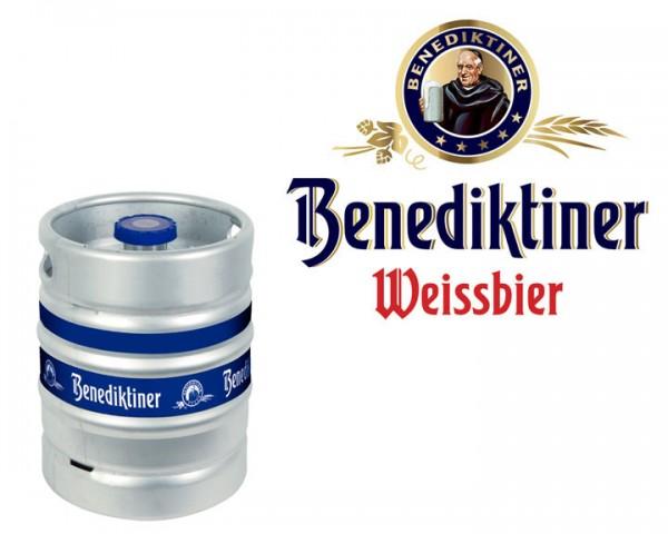 Benediktiner Weissbier Naturtrüb Fass 15 ltr.