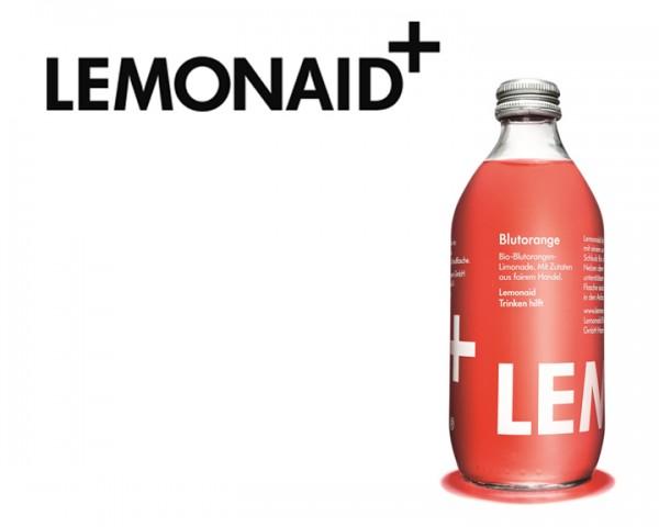 Lemonaid Blutorange Kiste 20x0,33 ltr.