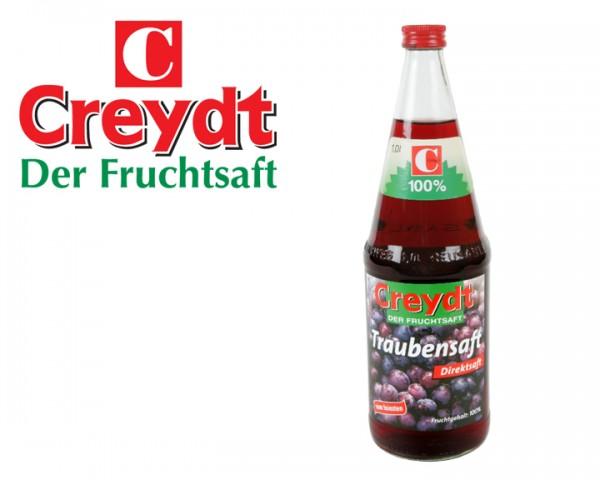 Traubensaft Creydt 6x1,0 ltr