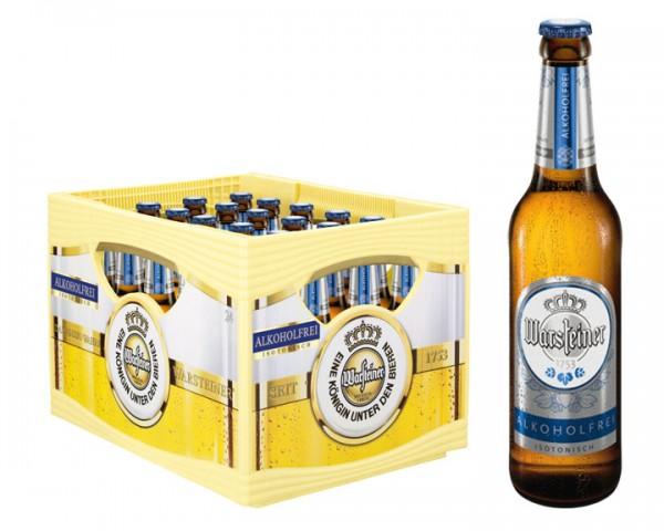 Warsteiner alkoholfrei 24x0,33 ltr