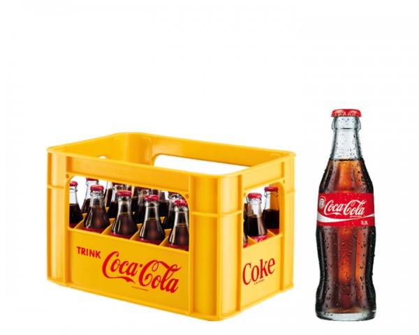 Coca Cola Kiste 24x0,2 ltr.