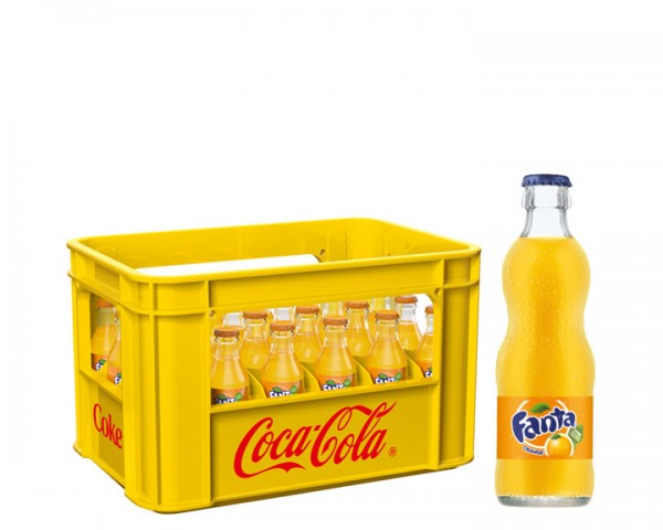 Fanta Orange Kiste 24x0,2 ltr.