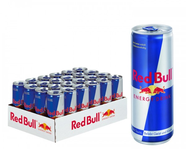 Red Bull Tray 24x0,25 ltr. Dose