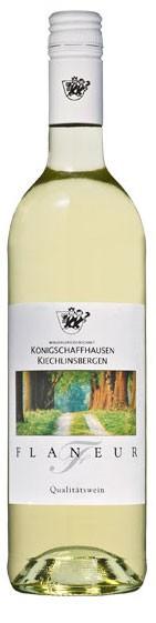 Flaneur weiss WG Königschaffhausen Flasche 0,7 ltr.