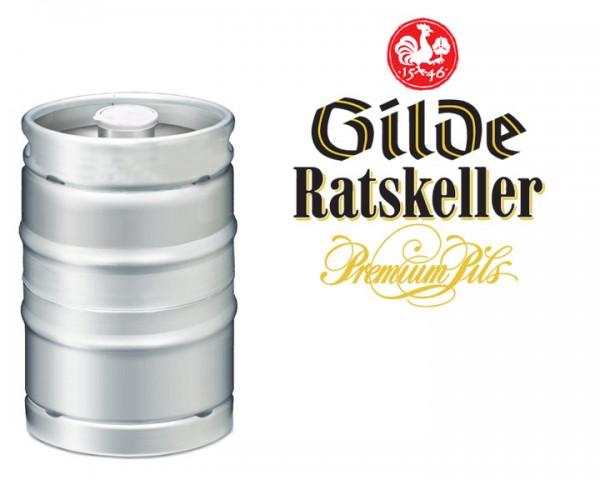 Gilde Ratskeller Edel Pils Fass 50 ltr.