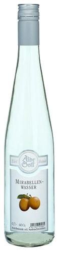Alde Gott Mirabellenwasser Flasche 0,7 ltr