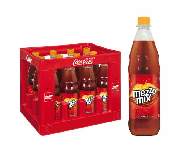 Mezzo Mix Kiste 12x1,0 ltr. PET