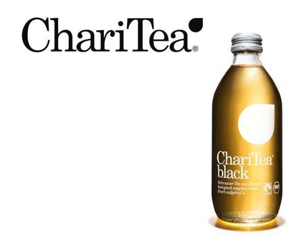 ChariTea Black Kiste 24x0,33 ltr.