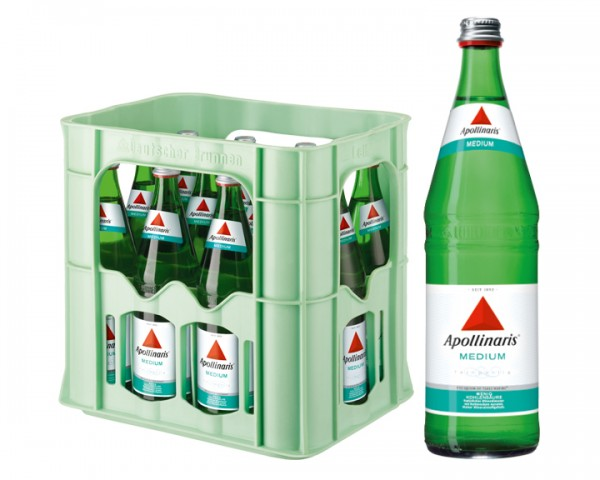 Apollinaris Medium Kiste 12x0,75 ltr