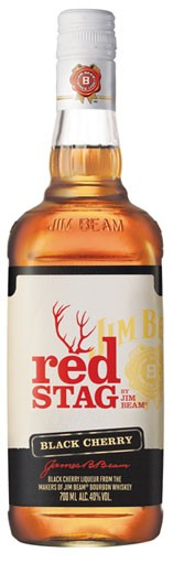 Jim Beam Red Stag Flasche 0,7 ltr.