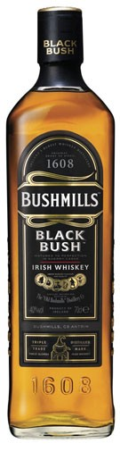Bushmills Black Bush Flasche 0,7 ltr.
