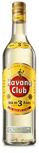 Havanna Club 3 Jahre Blanco Flasche 0,7 ltr.