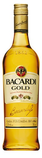 Bacardi Gold Flasche 0,7 ltr.