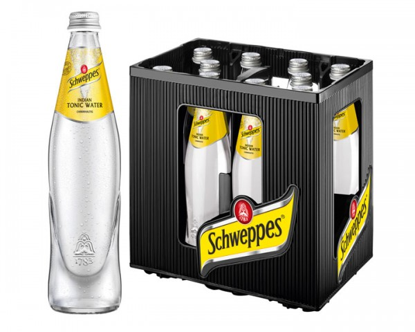 Schweppes Indian Tonic Water  10x0,5 ltr.