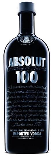Absolut 100 Flasche 1,0 ltr.