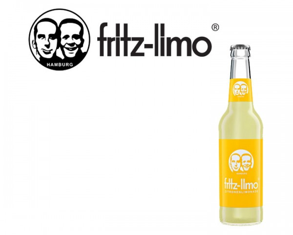 Fritz Limo Zitrone Kiste 24x0,33 ltr.
