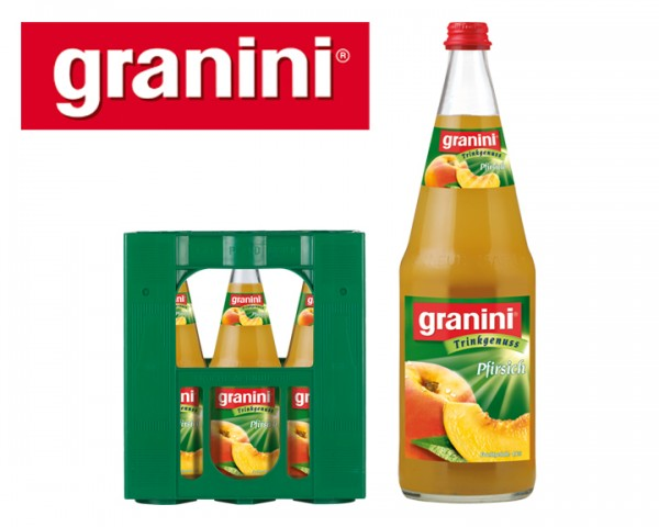 Granini Pfirsich Fruchsaftgetränk 6x1,0 ltr