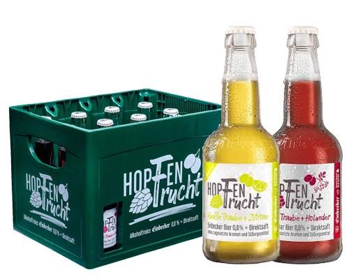 Hopfenfrucht Mischkiste 12x0,33 ltr