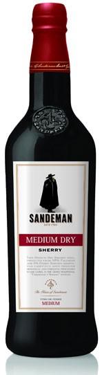 Sandemann Medium Dry Flasche 0,75 ltr.