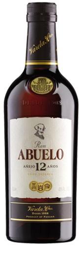 Ron Abuelo 12 Jahre Flasche 0,7 ltr.