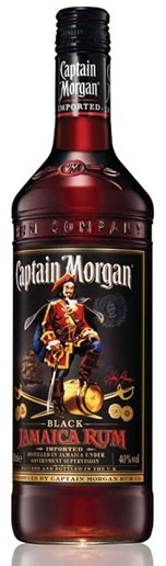 Captain Morgan Black Flasche 0,7 ltr.