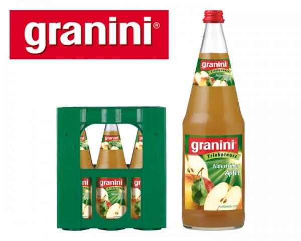 Granini Apfelsaft Naturtrüb 6x1,0 ltr