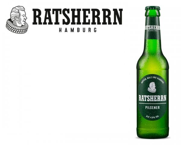 Ratsherrn Pilsener 24x0,33 ltr