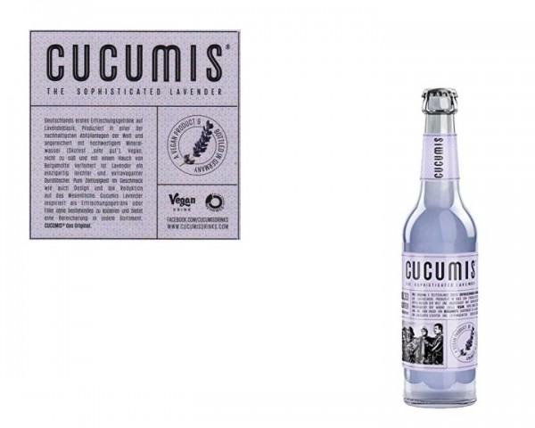 Cucumis Lavendellimonade Kiste 24x0,33 ltr.