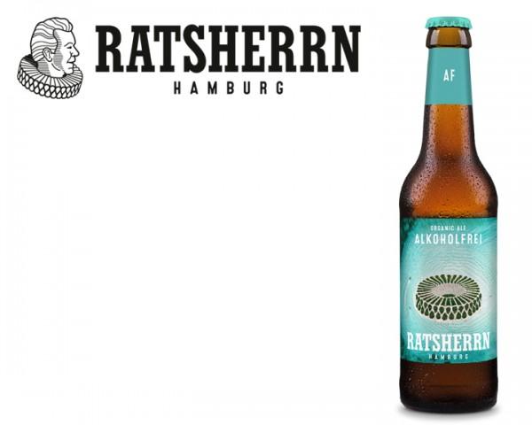 Ratsherrn Organic Ale alkoholfrei 24x0,33 ltr