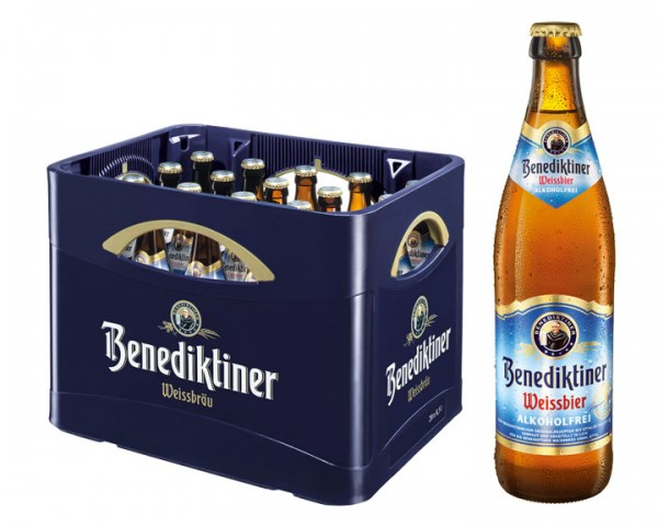 Benediktiner Weissbier Alkoholfrei 20x0,5 ltr