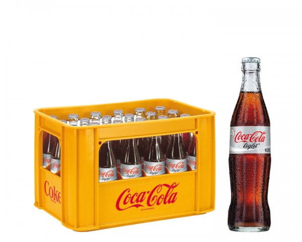 Coca Cola light Kiste 24x0,33 ltr.
